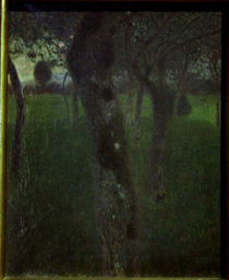 Gustav Klimt, Obstgarten am Abend by AKG  Images