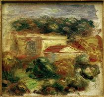P. A.Renoir, Landschaft am Mittelmeer by AKG  Images