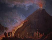 Vesuv, Ausbruch 1774 / Gem.v.Hackert von AKG  Images