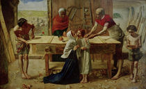Millais, Christ in the House of His Par. by AKG  Images