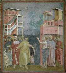 Giotto, Franziskus sagt sich los by AKG  Images