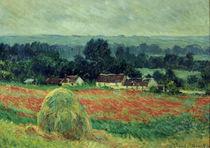 C.Monet, Der Heuhaufen by AKG  Images