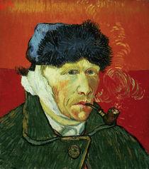 V.van Gogh, Selbstbildn.m.verbund.Ohr by AKG  Images