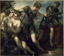 Tintoretto, Minerva vertreibt Mars by AKG  Images
