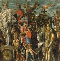 nach Mantegna, Triumph Caesars, Statuen von AKG  Images