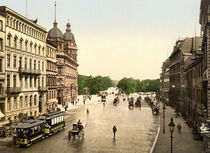 Hamburg, Dammtorstrasse / Photochrom by AKG  Images