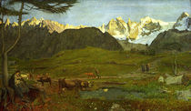 G.Segantini,Leben (Alpen Triptychon) by AKG  Images