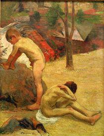 P.Gauguin, Badende bretonische Knaben von AKG  Images