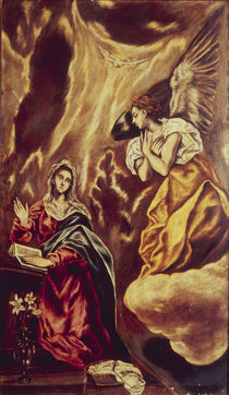 El Greco, Verkuendigung an Maria von AKG  Images