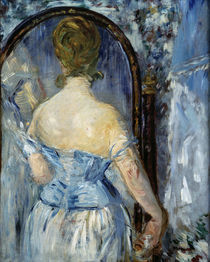 E.Manet, Vor dem Spiegel by AKG  Images