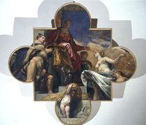 Veronese, Herkules und Ceres vor Venetia von AKG  Images