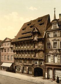 Braunschweig, Haus am Burgplatz/Photochr von AKG  Images