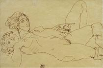 E.Schiele, Zwei liegende Maedchenakte by AKG  Images