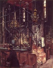 A.von Menzel, Alte Synagoge in Prag/1888 von AKG  Images