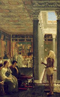 L.Alma Tadema, Der Gaukler by AKG  Images