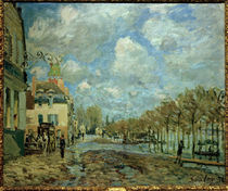 Alfred Sisley, Ueberschwemmung Port Marly by AKG  Images