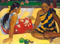 P. Gauguin, Zwei Frauen auf Tahiti von AKG  Images