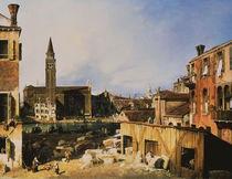 Canaletto, Kirche und Scuola della Carit by AKG  Images