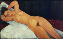 Modigliani,A./ Akt/ 1917 by AKG  Images