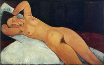 Modigliani,A./ Akt/ 1917 von AKG  Images