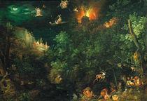 J.Brueghel d.Ae., Versuchung Antonius by AKG  Images