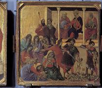 Duccio, Bethlehemitischer Kindermord von AKG  Images