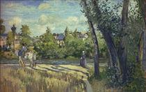 Camille Pissarro, Landschaft...Pontoise by AKG  Images
