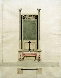 C.D.Friedrich, Altarentwurf Auge Gottes von AKG  Images