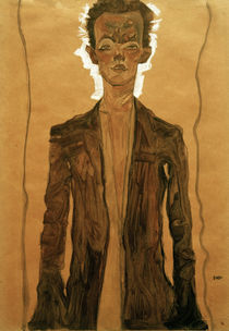 Egon Schiele, Selbstbildnis von AKG  Images