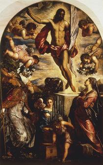 Tintoretto, Auferstehung Christi m.Hlgen von AKG  Images