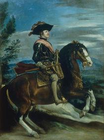 Philipp IV. zu Pferde /  Velasquez by AKG  Images