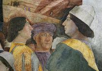 Federico I. Gonzaga / Fresko v.Mantegna von AKG  Images