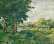 A.Renoir, Landschaft Ile de France by AKG  Images