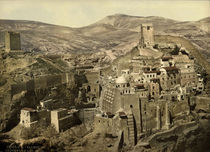 Kloster Mar Saba / Photochrom by AKG  Images