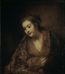 Rembrandt, Halbfigur einer Frau von AKG  Images