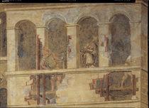 A.Lorenzetti, Vandale demolieren Gebaeude von AKG  Images