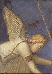 A.Lorenzetti, Engel neben der Justitia by AKG  Images
