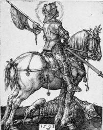 Duerer, Hl.Georg zu Pferde by AKG  Images