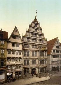Hannover, Leibnitzhaus / Photochrom by AKG  Images