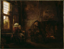 Rembrandt, Der alte Tobias und Hanna von AKG  Images