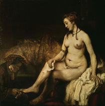 Rembrandt, Bathseba im Bade von AKG  Images