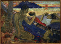 Gauguin, Der Einbaum/ 1896 von AKG  Images