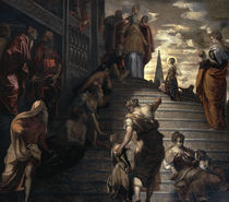 Tintoretto, Mariae Tempelgang by AKG  Images