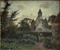 C.Pissarro, Die Kirche von Knocke by AKG  Images