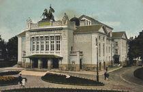 Giessen a.d.Lahn, Stadttheater / Postk. by AKG  Images