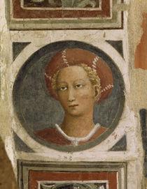 Masaccio, Bildnismedaillon weiblich by AKG  Images