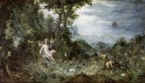 J.Brueghel d.Ae., Allegorie des Wassers by AKG  Images