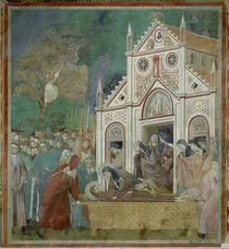 Giotto, Klarissen Abschied von Franzisk. by AKG  Images