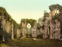 Netley Abbey / Innenansicht /Photochrom by AKG  Images