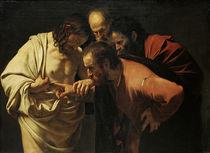 Caravaggio, Der unglaeubige Thomas von AKG  Images